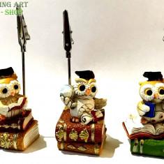 Memo clip owl - Jucarie de colectie