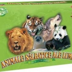 Joc Educativ - Animale Salbatice ale Lumii