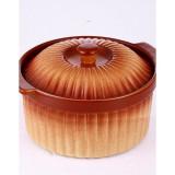 Cratita ceramica rotunda cu capac VB 6020037 - oala, cratita, Vas ceramic