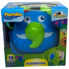 Plastelino - Elefantino - Jocuri arta si creatie Noriel