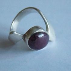 Inel de argint cu quart-941 - Inel argint