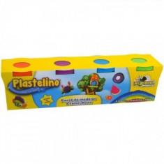 Plastelino - Pasta de modelat Starter (4culori) - Jocuri arta si creatie Noriel