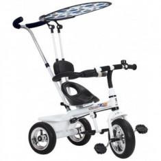 Tricicleta pentru copii - Alba - Tricicleta copii Baby Mix