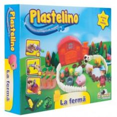 Plastelino - La Ferma - Jocuri arta si creatie Noriel