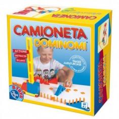 Joc Distractiv - Camioneta Dominomi - Jocuri Logica si inteligenta D-Toys