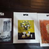 Revista Arta 1981 nr 1-2, 1983 si 1985 - Carte Arhitectura