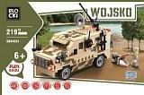 Lego Masina Armata cu Satelit - 219pcs