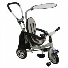 Tricicleta Safari BabyMix - Gri - Tricicleta copii