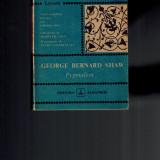 Pygmalion - George Bernard Shaw, texte comentate