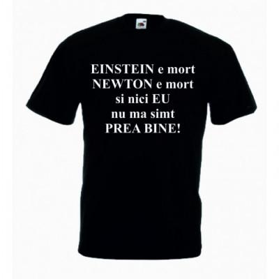 Tricou cu mesaj EINSTEIN,L, Tricou personalizat,Tricou cadou foto