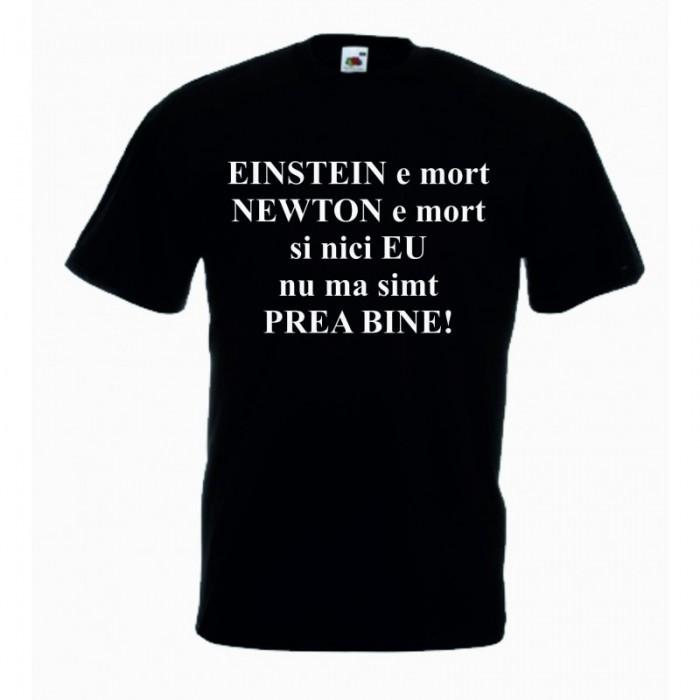 Tricou cu mesaj EINSTEIN,L, Tricou personalizat,Tricou cadou foto mare