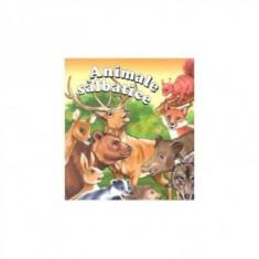 Carte cu imagini - Animale salbatice - Carte de povesti
