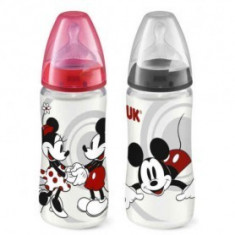 NUK - FIRST CHOICE Biberon PP 300 ml - Mickey