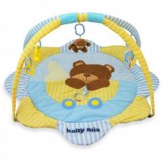 Covoras de joaca pentru bebelusi Baby Mix - Ursulet - Jucarie pentru patut