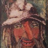 Simion Craciun - Masca - Pictor roman, Portrete, Ulei, Altul