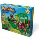 Plastelino - Gradinita cu Flori - Jocuri arta si creatie Noriel
