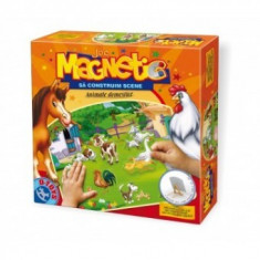 Joc de Creatie - Sa Constuim Scene - Animale Domestice - Jocuri arta si creatie D-Toys