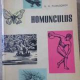 Homunculus Schite Din Istoria Biologiei - N.n. Plavilscikov, 391745 - Carti Agronomie