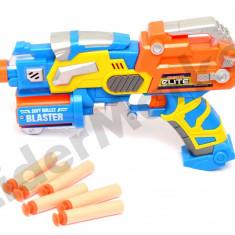 Pistol cu gloante din spuma cu ventuze