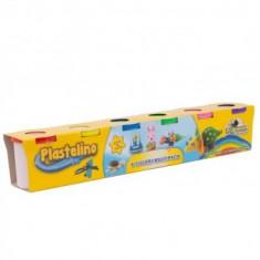 Plastelino - Multipack (6 culori) - Jocuri arta si creatie Noriel