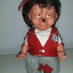 Figurina din cauciuc rara! 1950 VINTAGE GERMAN MECKi - Figurina Dinozauri