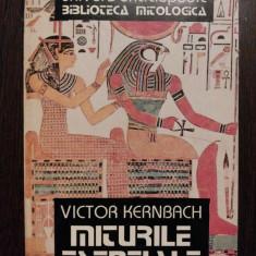 MITURILE ESENTIALE - Victor Kernbach - Univers Enciclopedic, 1996, 333 p. - Carte mitologie