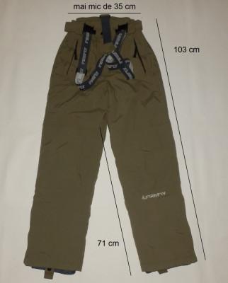 Pantaloni ski schi FIREFLY originali, impecabili (dama XS) cod-173759 foto