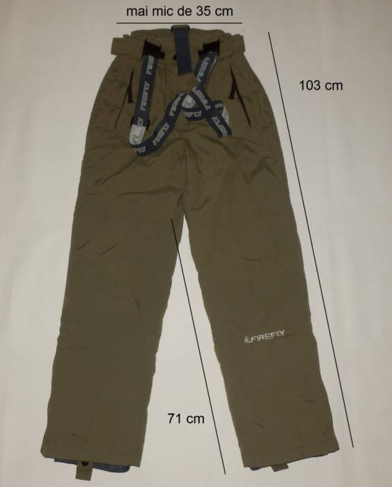 Pantaloni ski schi FIREFLY originali, impecabili (dama XS) cod-173759 foto mare