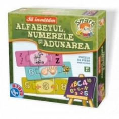 Sa Invatam - Alfabetul, Numerele si Adumarea