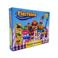 Plastelino - Torturi Delicioase - Jocuri arta si creatie Noriel