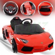 Masina cu Acumulator Lamborghini Aventador - Portocaliu - Masinuta electrica copii