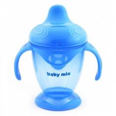 Pahar de copii antivarsare Baby Mix - Albastru
