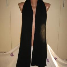 Fular lung Suzuki negru - Fular Dama