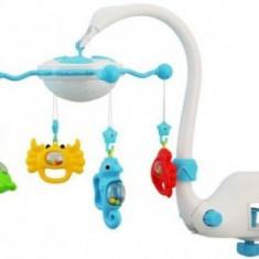 Carusel muzical cu proiectie - Aqua Magic - Carusel patut Baby Mix