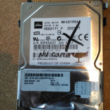 "HDD LAPTOP TOSHIBA IDE 2.5"" 40GB MK4019GAX DEFECT, 41-80 GB"