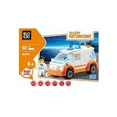 Lego Ambulanta - 92pcs - LEGO City