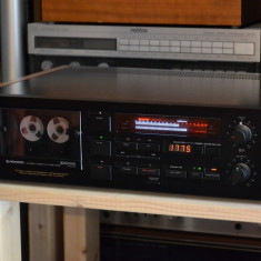 Cass deck PIONEER CT A7X Black - Deck audio