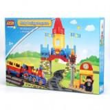 Lego Trenulet cu Castel - 73pcs - LEGO City
