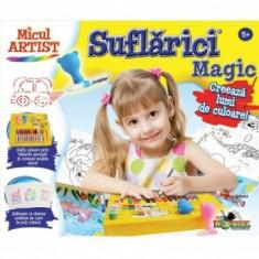 Joc de Creatie - Micul Artist - Suflarici Magic - Jocuri arta si creatie Noriel
