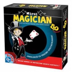 Joc Distractiv - Micul Magician - 50 Trucuri - Jocuri Logica si inteligenta D-Toys