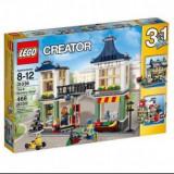 LEGO Creator Magazin de jucării și băcănie, 466pcs - LEGO City