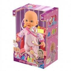 Bebelas - ALICE - Papusa D-Toys Saltareata