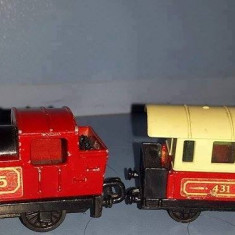 Matchbox, locomotiva si vagon - Macheta Feroviara Matchbox, I, Locomotive