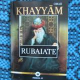 Omar KHAYYAM - RUBAIATE (2015, TRADUCERE din PERSANA de Gheorghe IORGA, DE LUX!) - Carte poezie
