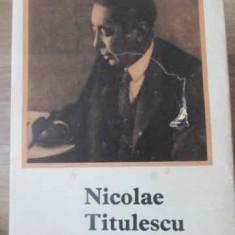 Nicolae Titulescu - Ion M. Oprea, 391720 - Istorie
