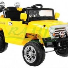 JEEP SUV cu Acumulator - Galbena - Masinuta electrica copii