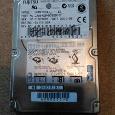 "HDD LAPTOP FUJITSU IDE 2.5"" MH2100AT DEFECT, Sub 40 GB"