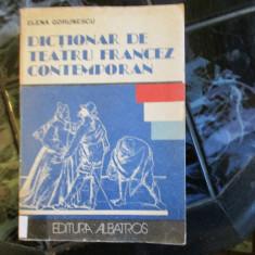 DICTIONAR DE TEATRU FRANCEZ CONTEMPORAN - Carte mitologie
