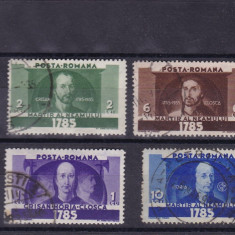 ROMANIA 1935 , LP 111 , HORIA , CLOSCA SI CRISAN SERIE  STAMPILATA