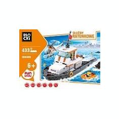 Lego Barca Ambulanta - 433pcs - LEGO City